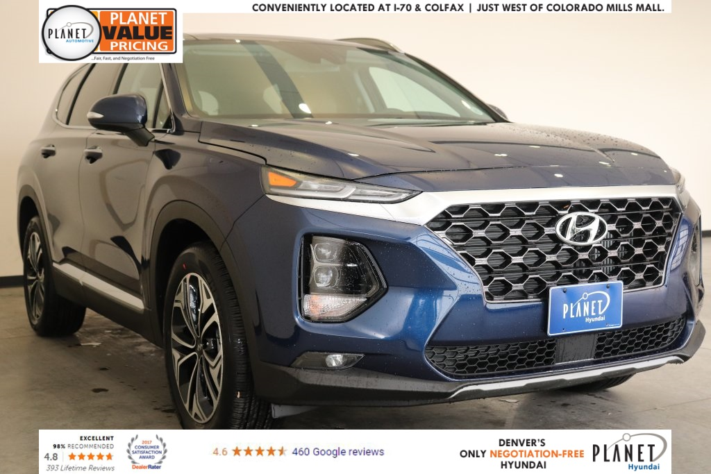 New 2019 Hyundai Santa Fe Limited 2 0t