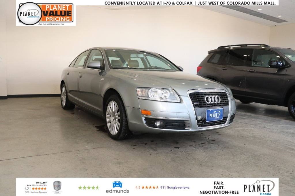 Pre-Owned 2007 Audi A6 3.2