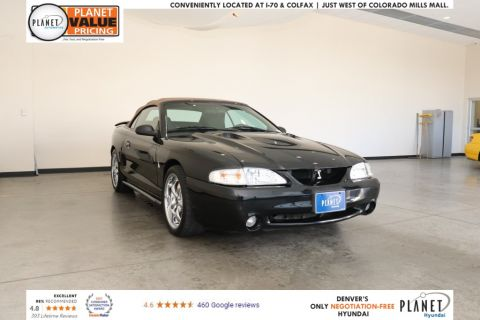 Pre-Owned 1998 Ford Mustang Cobra